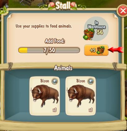 Feeding in Stall