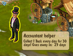 Golden Frontier Accountant Helper Quest Reward