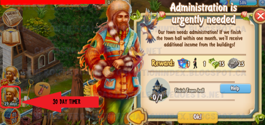 Golden Frontier Administration is Urgently Needed Quest
