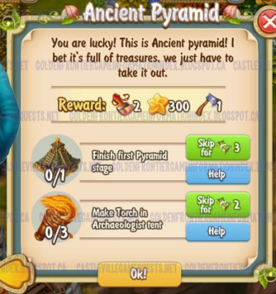 Golden Frontier Ancient Pyramid Quest