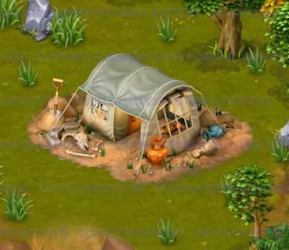 Golden Frontier Archaeologist Tent