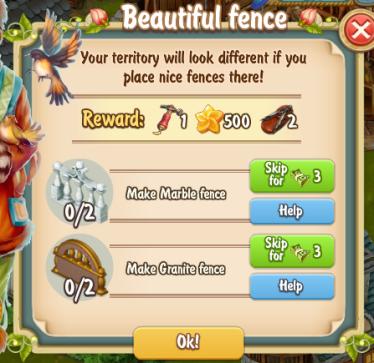 Golden Frontier Beautiful Fence Quest