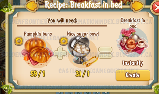 Golden Frontier Breakfast in Bed Recipe