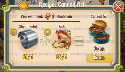 Golden Frontier Canned Fish Recipe