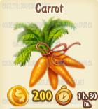 Golden Frontier Carrot Crop