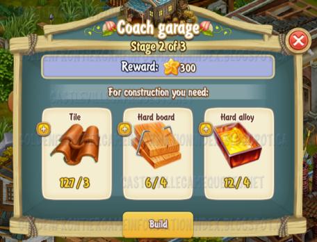 Golden Frontier Coach Garage Stage 2