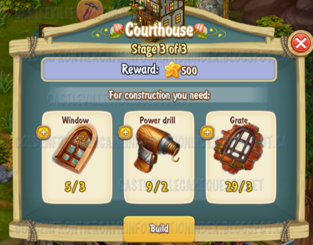 Golden Frontier Courthouse Stage 3