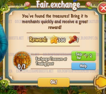 Golden Frontier Fair Exchange Quest