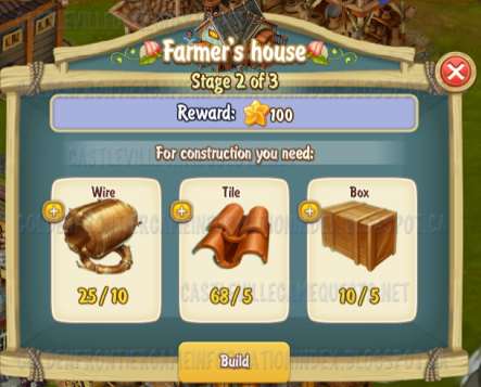 Golden Frontier Farmer's House Stage 2