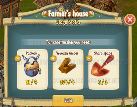 Golden Frontier Farmer's House Stage 3