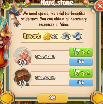 Golden Frontier Hard Stone Quest