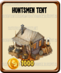 Golden Frontier Huntsmen Tent
