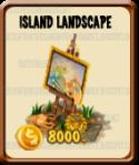 Golden Frontier Island Landscape