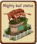 golden-frontier-mighty-bull-statue