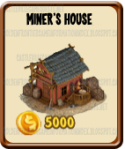 Golden Frontier Miner's House