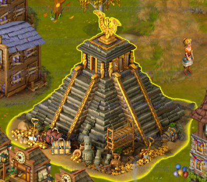 Golden Frontier Pyramid