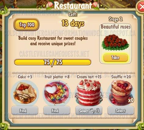 Golden Frontier Restaurant Stage 2