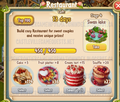 Golden Frontier Restaurant Stage 4
