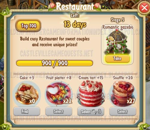 Golden Frontier Restaurant Stage 5