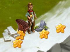 Golden Frontier rewards from Sheriff