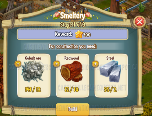 Golden Frontier Smeltery Stage 1