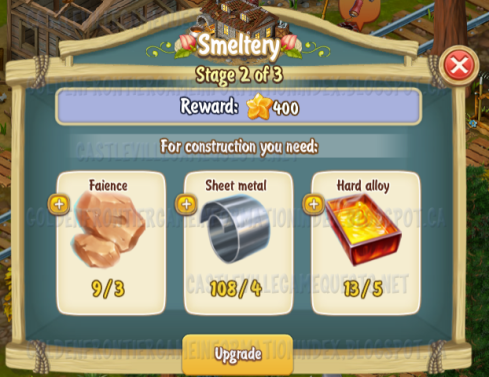 Golden Frontier Smeltery Stage 2