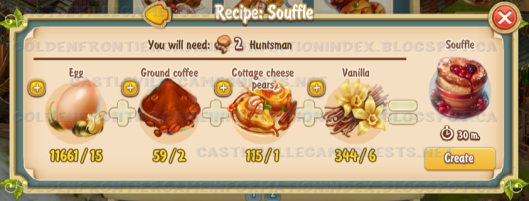 Golden Frontier Souffle Recipe