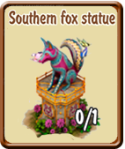 golden-frontier-southern-fox-statue