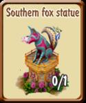 golden-frontier-southern-fox-statue