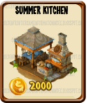 Golden Frontier Summer Kitchen