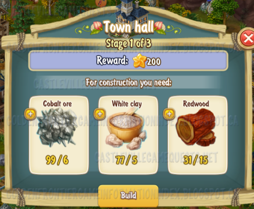 Golden Frontier Town Hall Stage 1