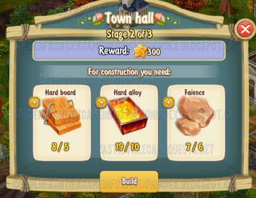 Golden Frontier Town Hall Stage 2