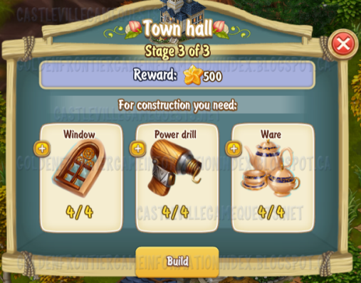 Golden Frontier Town Hall Stage 3