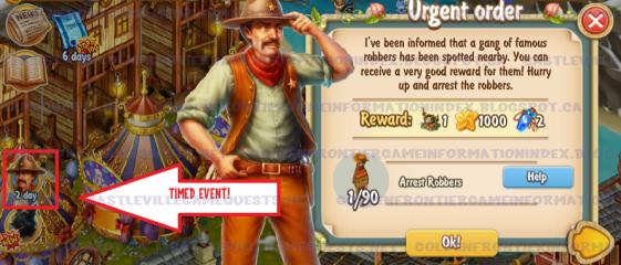 Golden Frontier Urgent Order Quest