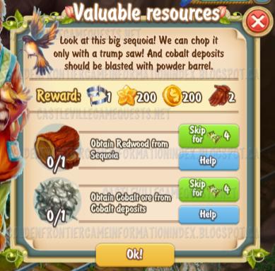 Golden Frontier Valuable Resources Quest