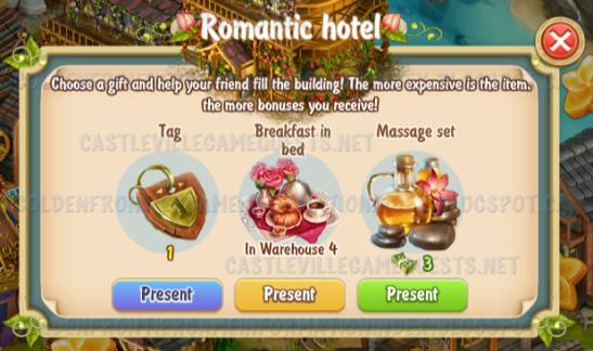 Golden Frontier Visiting Romantic Hotel