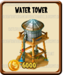 Golden Frontier Water Tower