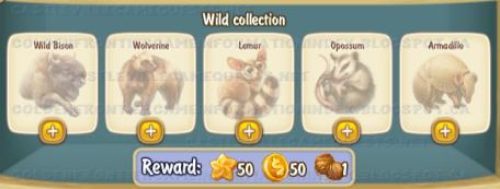 Golden Frontier Wild Collection
