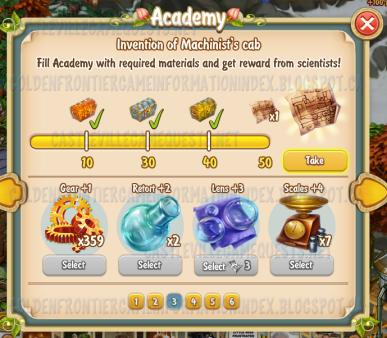 Golden Frontier Academy Stage 3 (engineering)