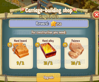 Golden Frontier Carriage Building Shop Stage 3