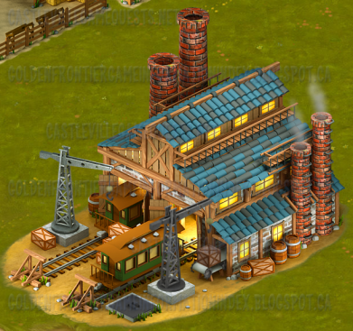 Golden Frontier Carriage Building Shop