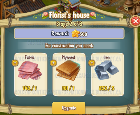 Golden Frontier Florist's House Stage 2