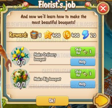 Golden Frontier Florist's Job Quest