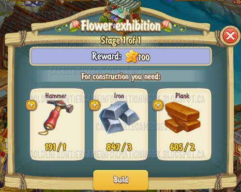 Golden Frontier Flower Exhibition Stage 1