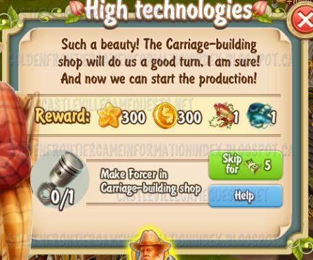 Golden Frontier High Technologies Quest