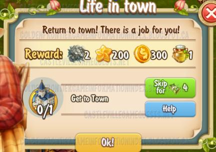 Golden Frontier Life in Town Quest