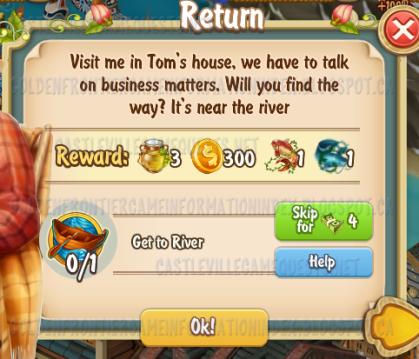 Golden Frontier Return Quest