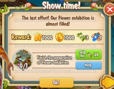 Golden Frontier Show Time Quest