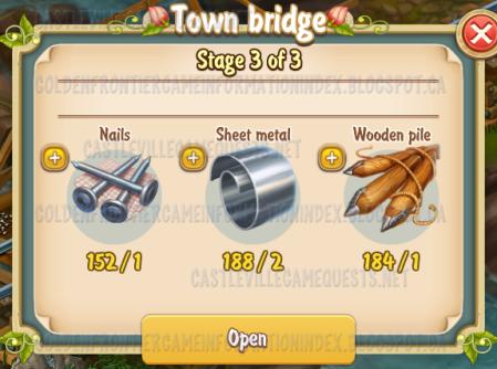 Golden Frontier Town Bridge Stage 3