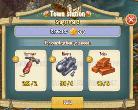 Golden Frontier Town Station Stage 1
